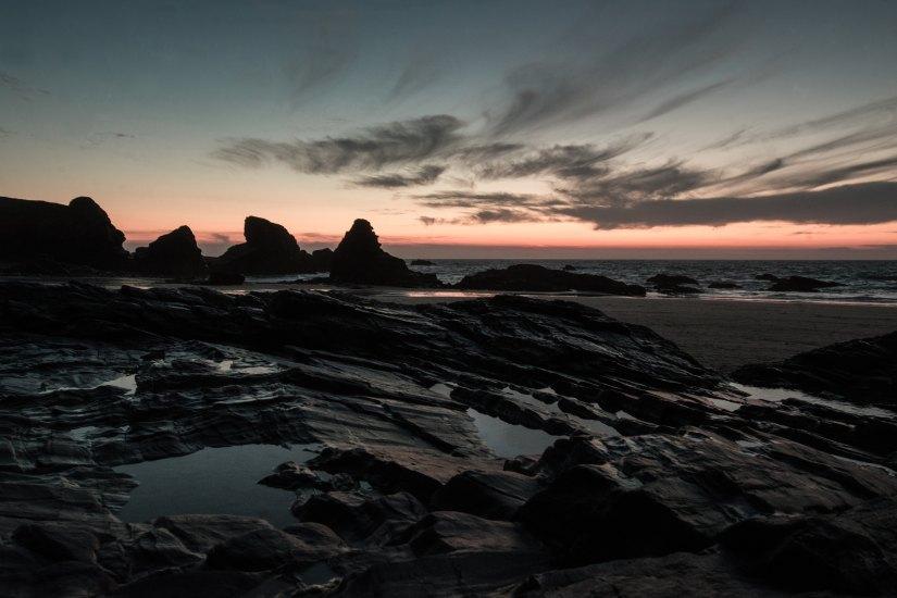 Cornwall Beach by Sandra Ahn Mode